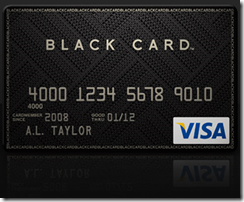 Visa - Black Card