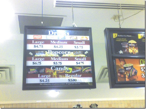 AMC concession prices1