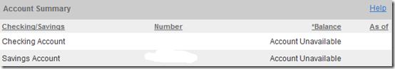 HSBC accounts unavailable