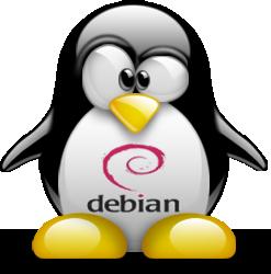 Debian Linux Penguin icon
