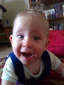 Baby IM at six months