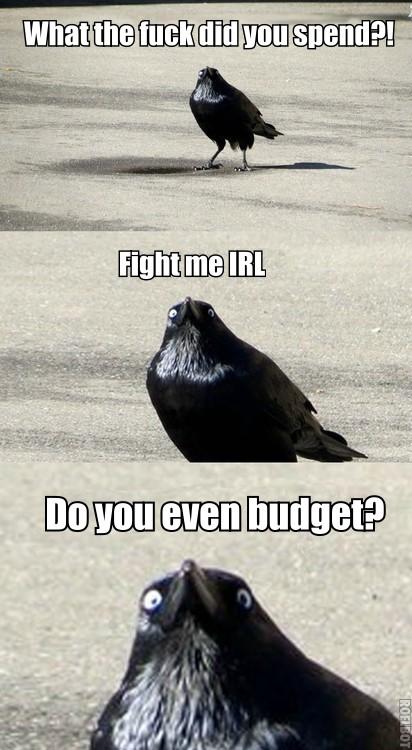 Do you even budget?